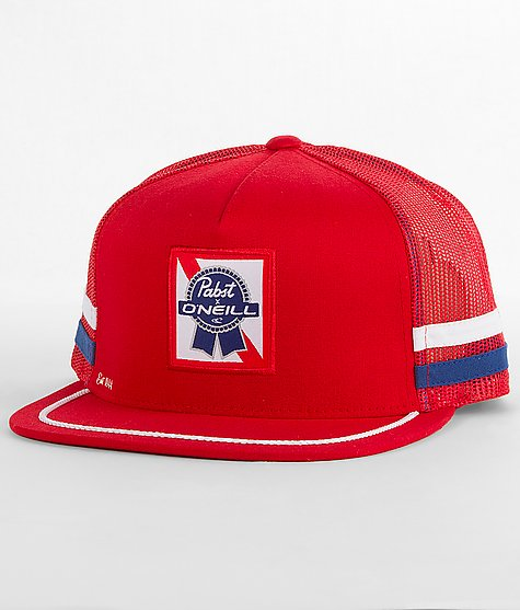 O Neill Pabst Trucker Hat - Zappard.com cca034740c6